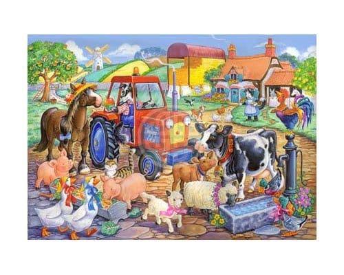 The House Of Puzzles Xxl Pieces Farm Friends