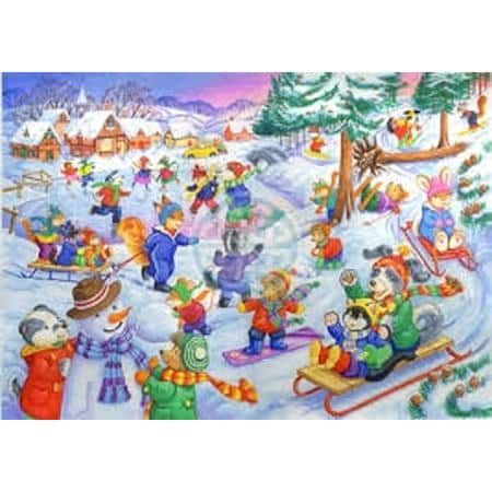 The House Of Puzzles Xxl Pieces Fun In The Snow
