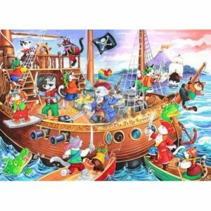 The House Of Puzzles Xxl Pieces Pirates Ahoy