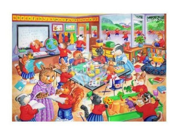 The House Of Puzzles Xxl Pieces School Days