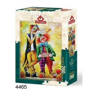 The Musician Clowns Art Legpuzzels