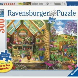 Tuinhuisje Ravensburger Legpuzzels