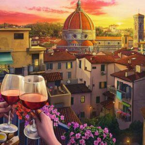 wijn drinken op het terras 16796 ravensburger 1